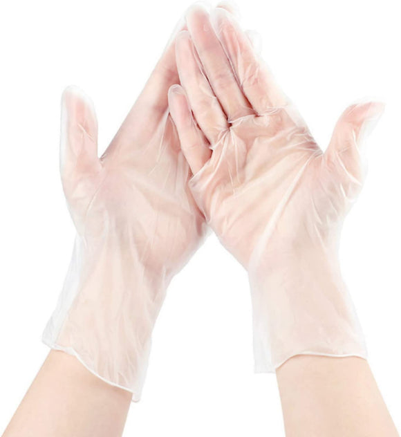 Disposable Gloves – White, L Size(100PCS)