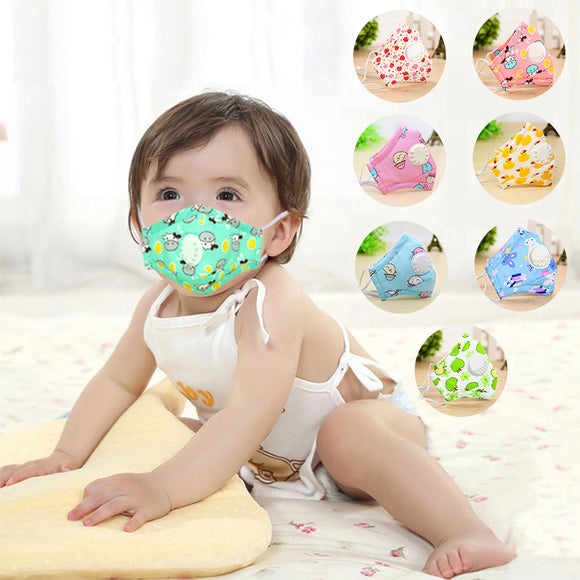 Kids Face Masks - Anti Pollution Mask (3pcs)