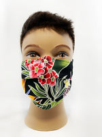Tropical Floral Cotton Mask