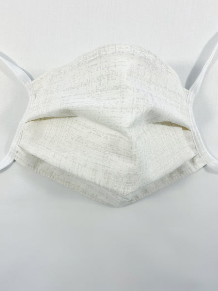 White Cotton Mask