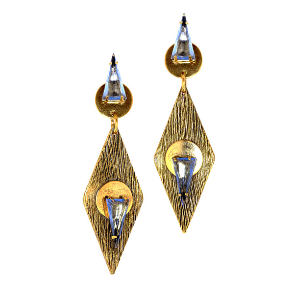 Triangle Shen Drop Earrings
