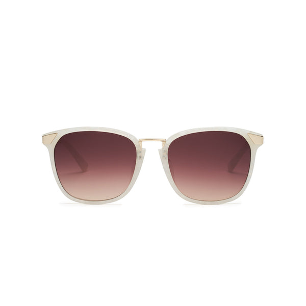 Vega White Tortoise Sunglasses