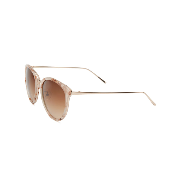 Maia Tortoise Sunglasses in Petal