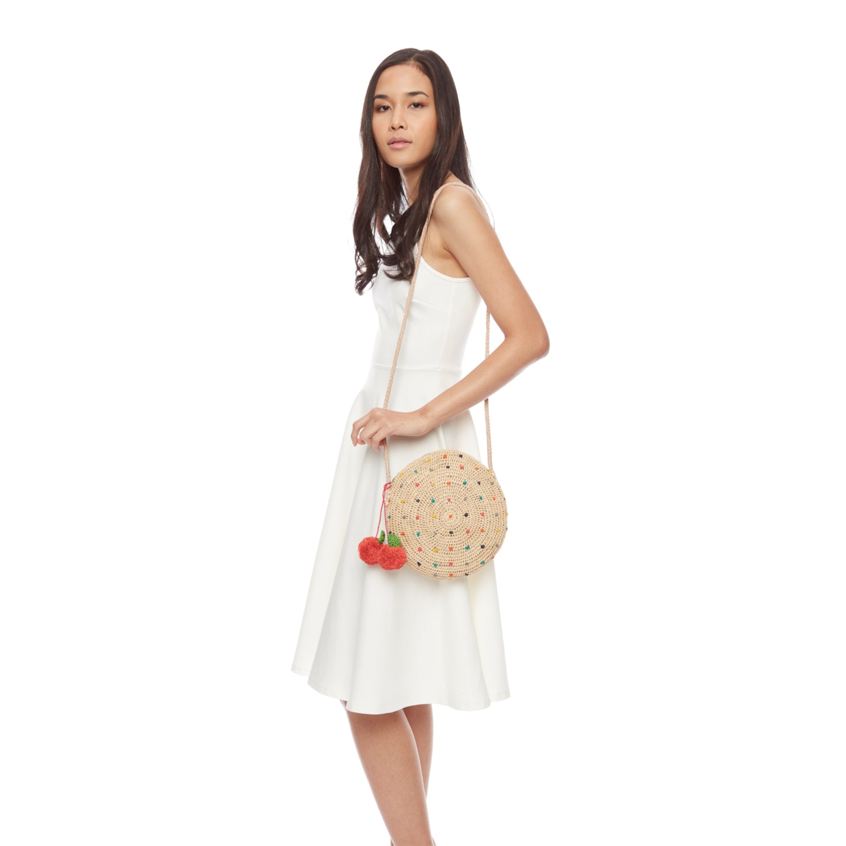 Alma Multi Circle Shoulder Bag
