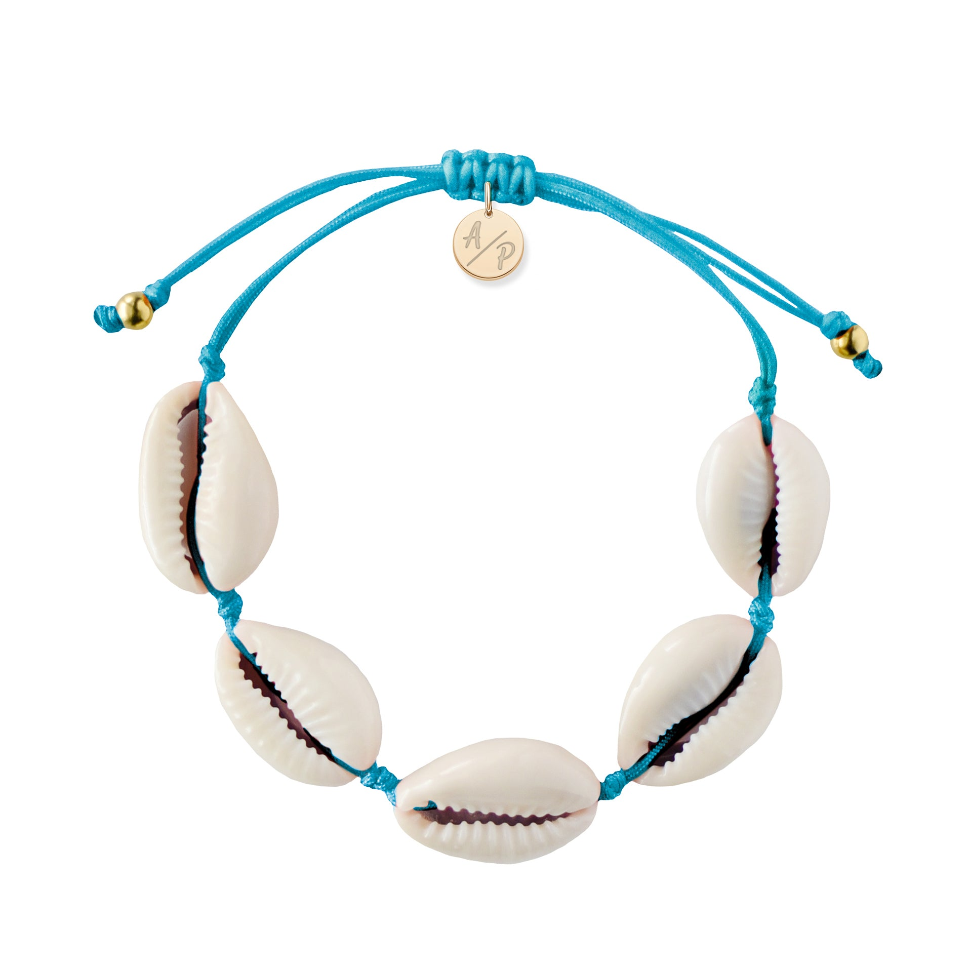 Natural Shell Bracelet in Turquoise