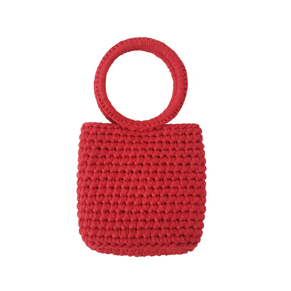 Bondi Mini Knitted Cotton Tote