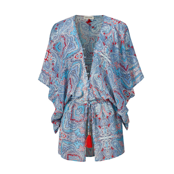 Paisley Marrakesh Silk Caftan
