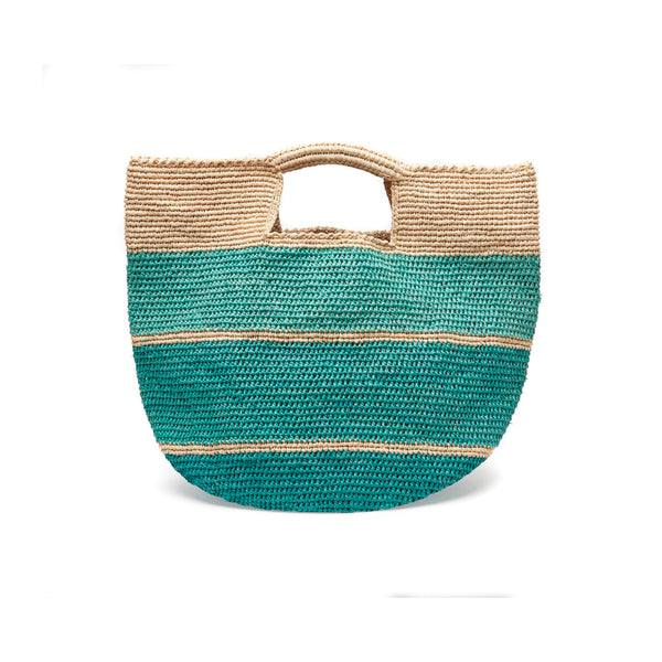 Camden Aqua Soft Tote Bag