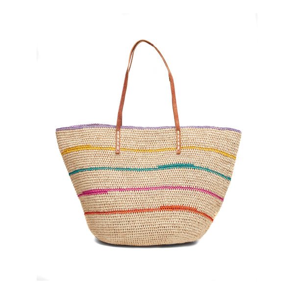 Cielo Natural Beach Tote Bag