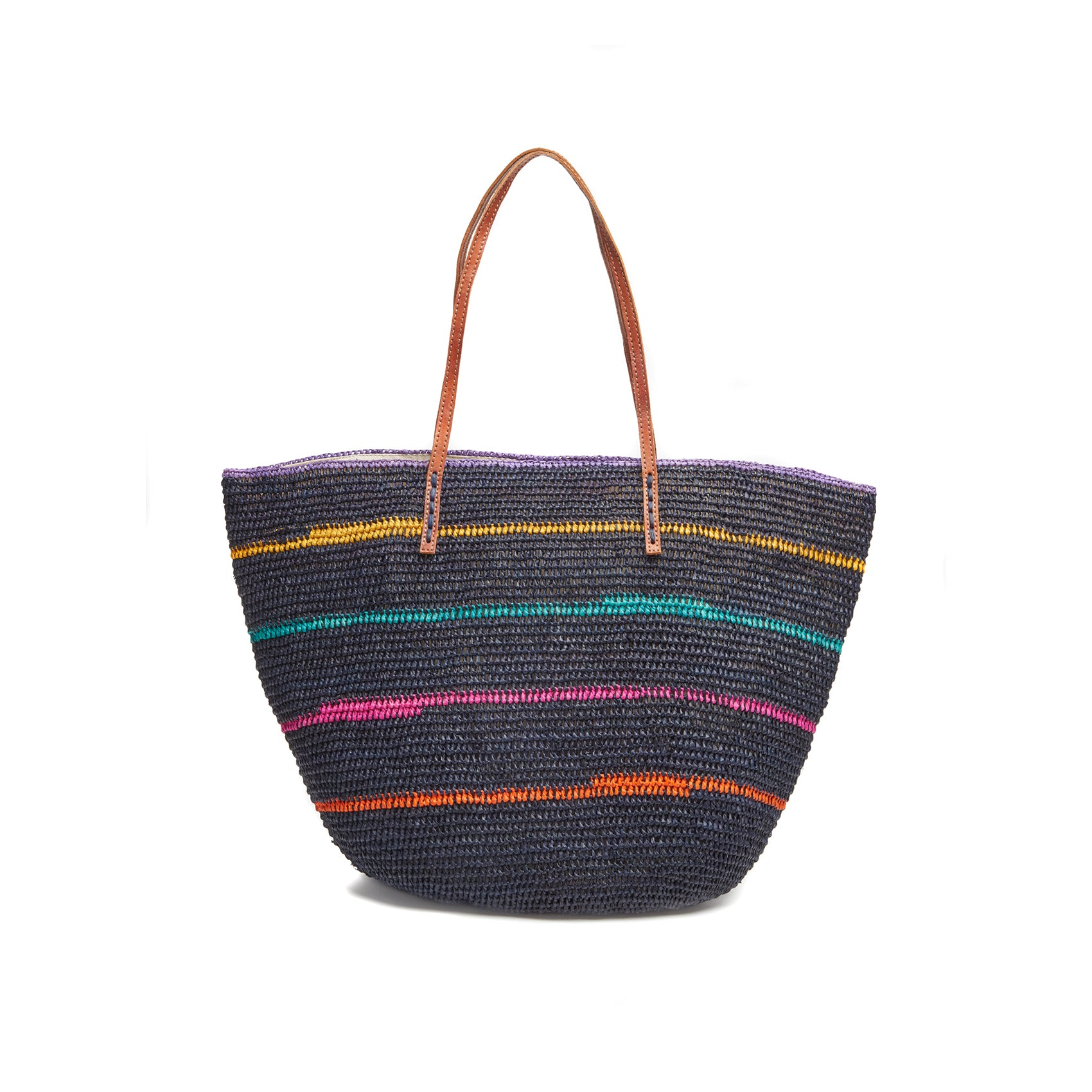 Cielo Navy Beach Tote Bag
