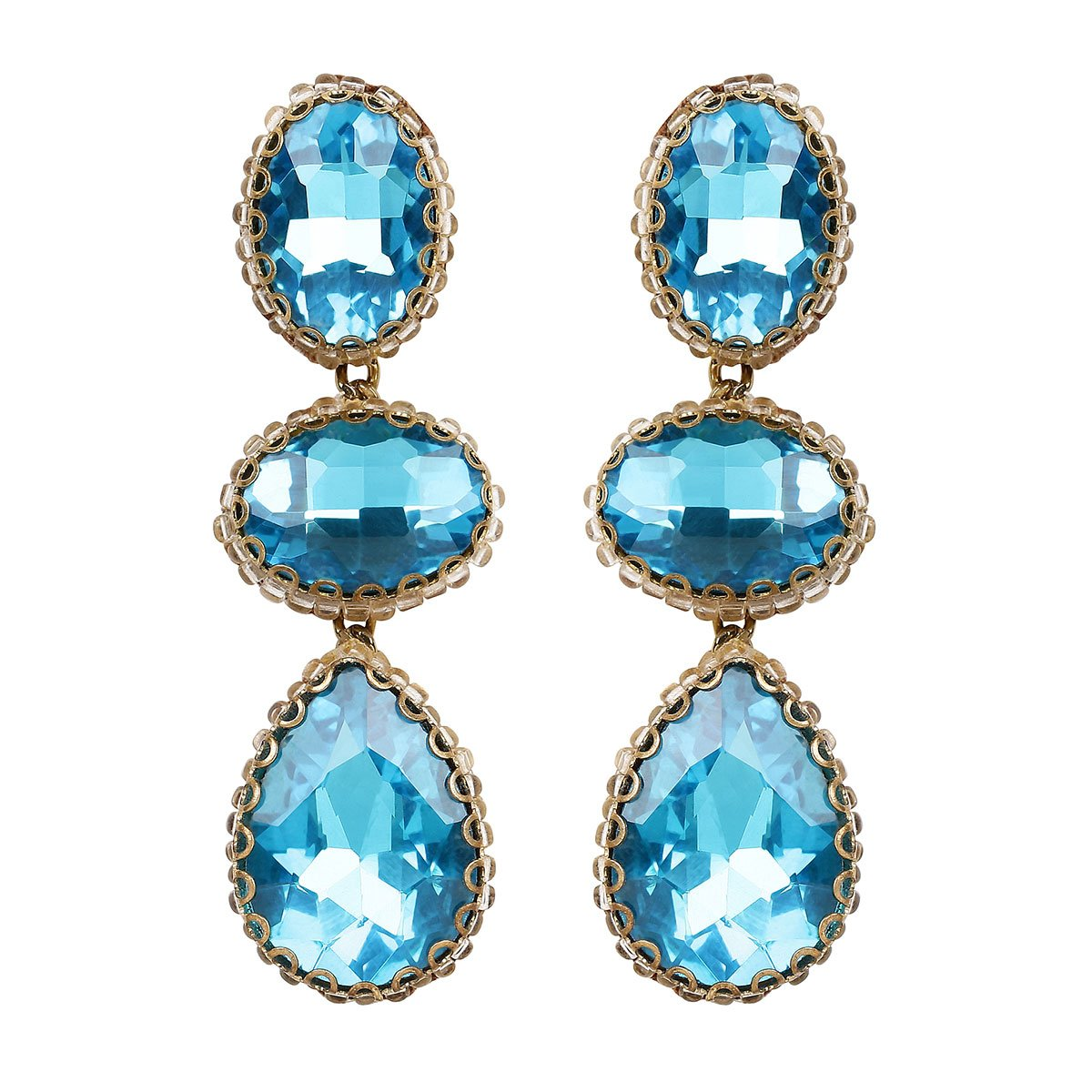 Hadlee Crystal Drop Earrings