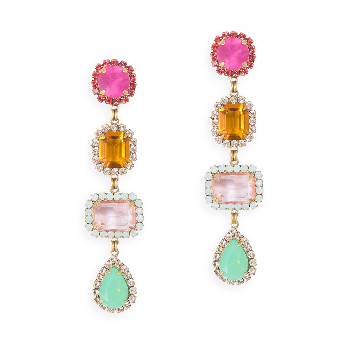 Emily Four Drop Earrings