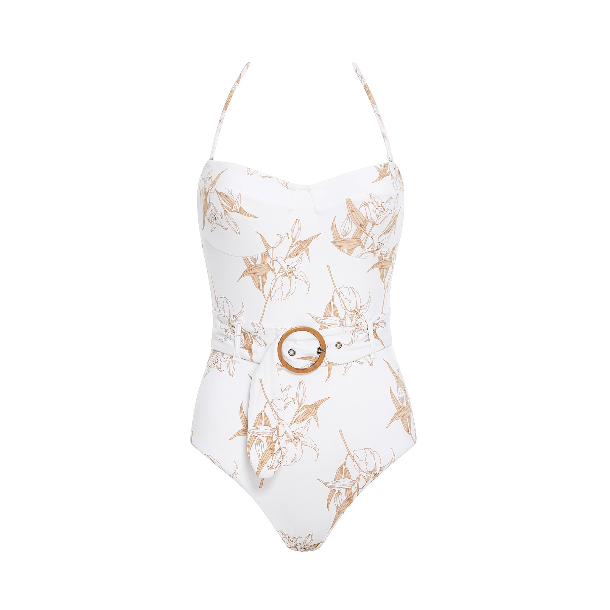 Kate Belted One Piece Lily