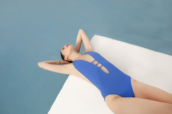 Panarea Plunge Neck One Piece
