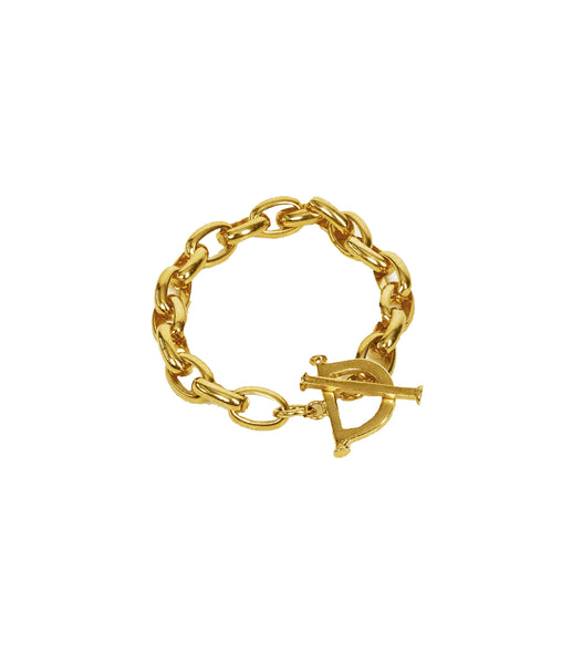 Toggle Chain Bracelet Gold
