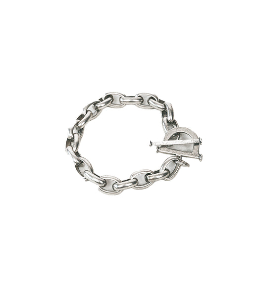 Toggle Chain Bracelet Silver