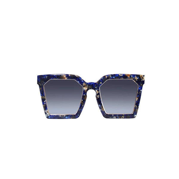 LAS ISLAS SQUARED SUNGLASSES IN MIDNIGHT