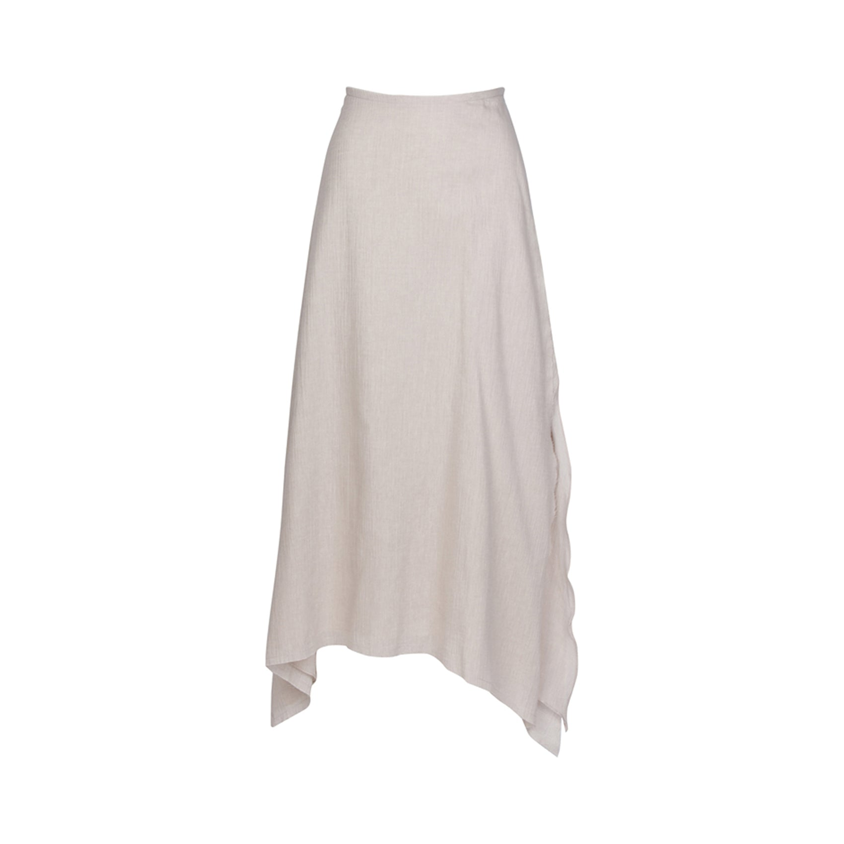 Zuma Skirt in Natural Linen