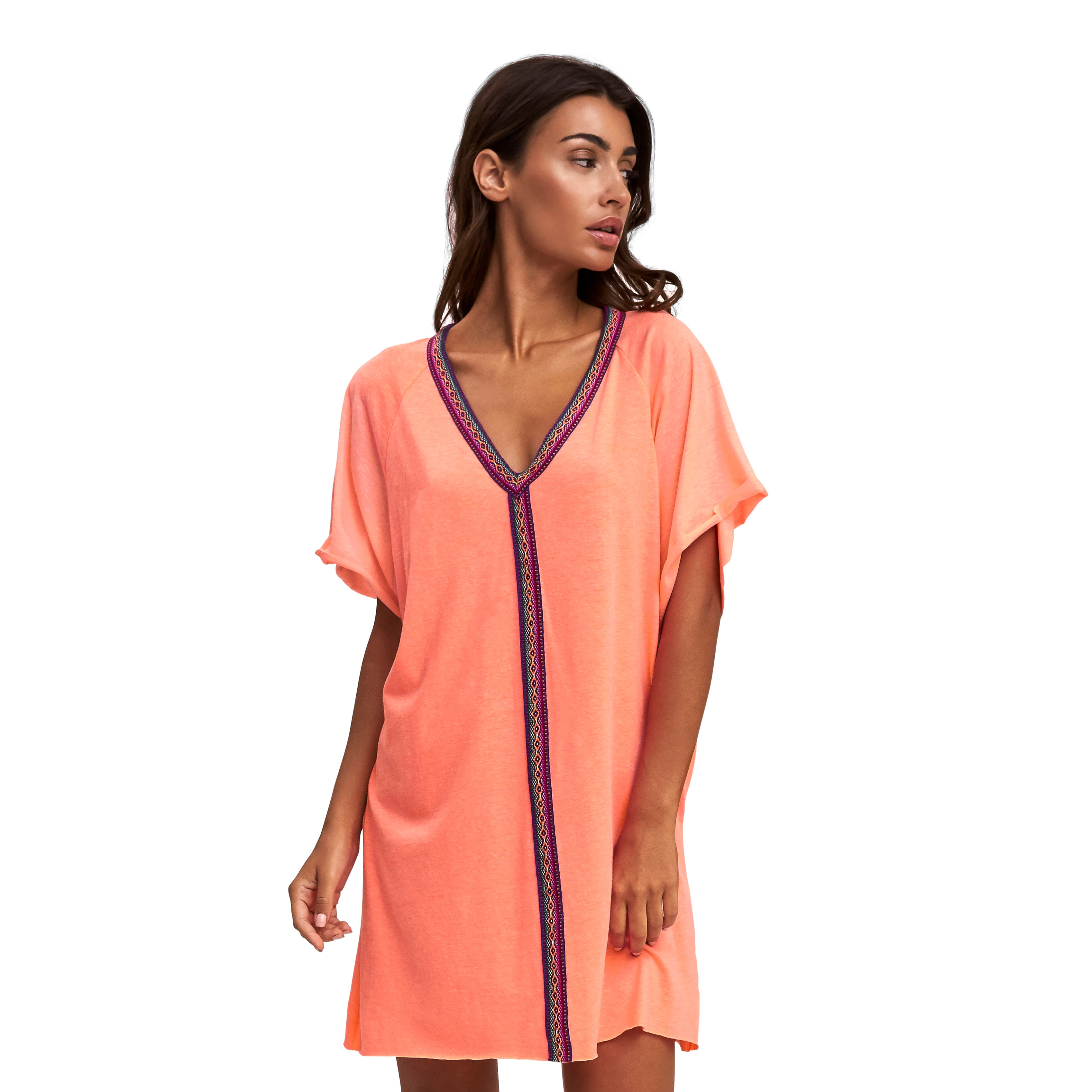 Mini Abaya Coverup Dress