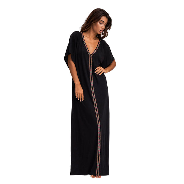 Pima Abaya Maxi Dress