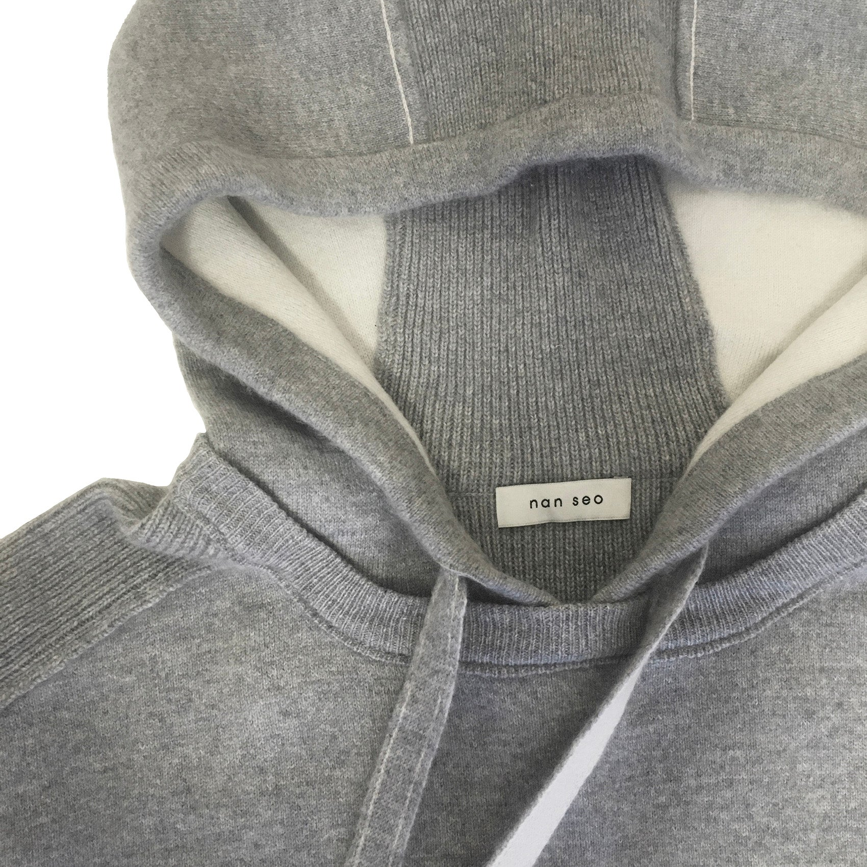 Play Oversized Cashmere Hooded Sweatshirt
