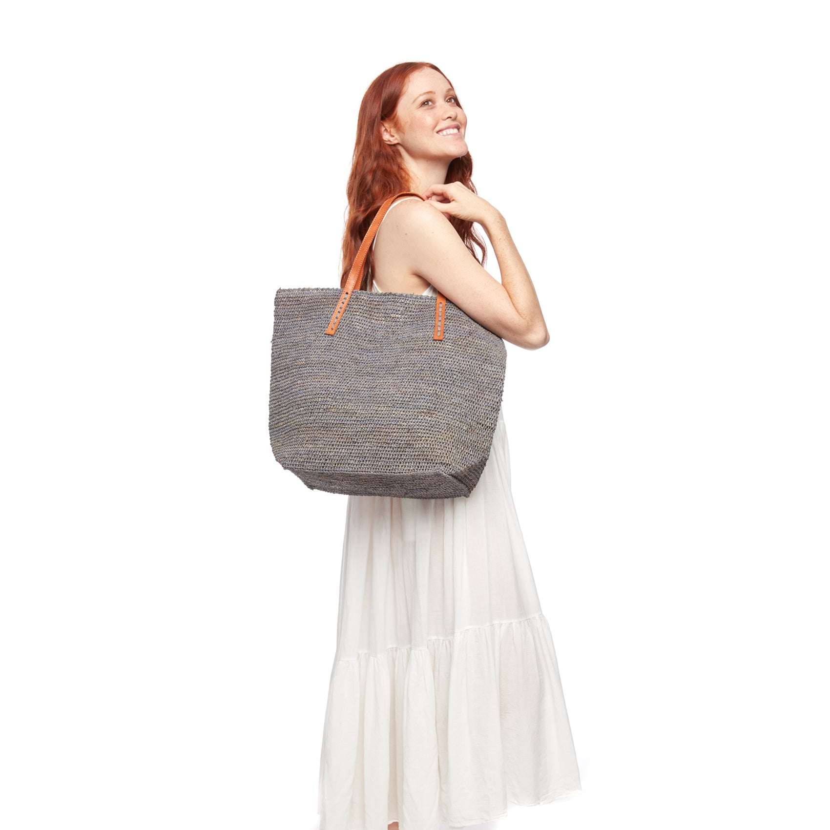 Portland Natural Soft Shoulder Tote Bag