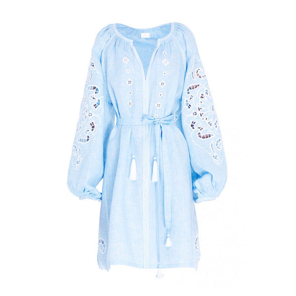 Rosha Light Blue Dress