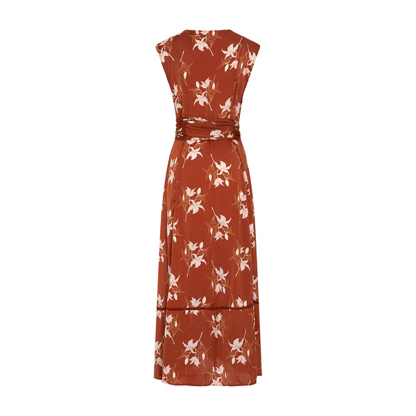Audrey Lily Coverup Rust