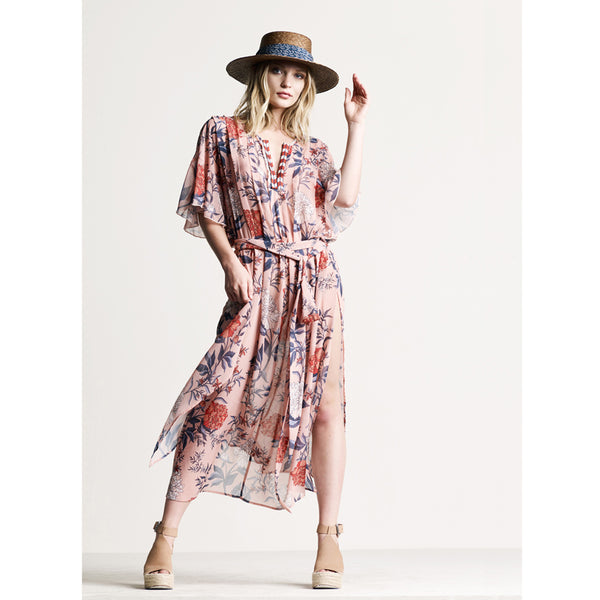 Heather Floral Maxi Dress