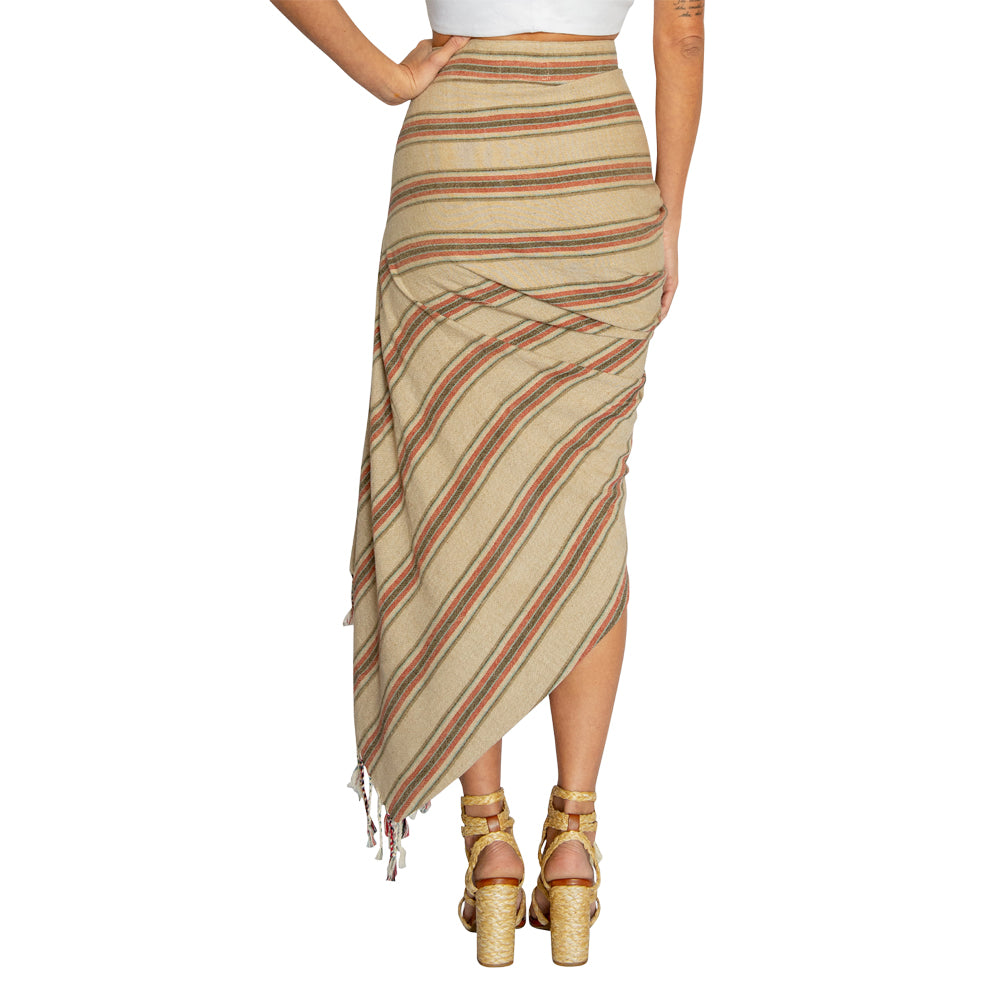 Tulum Skirt Red/Brown