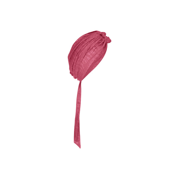 Marrakesh Turban in Rose Wave