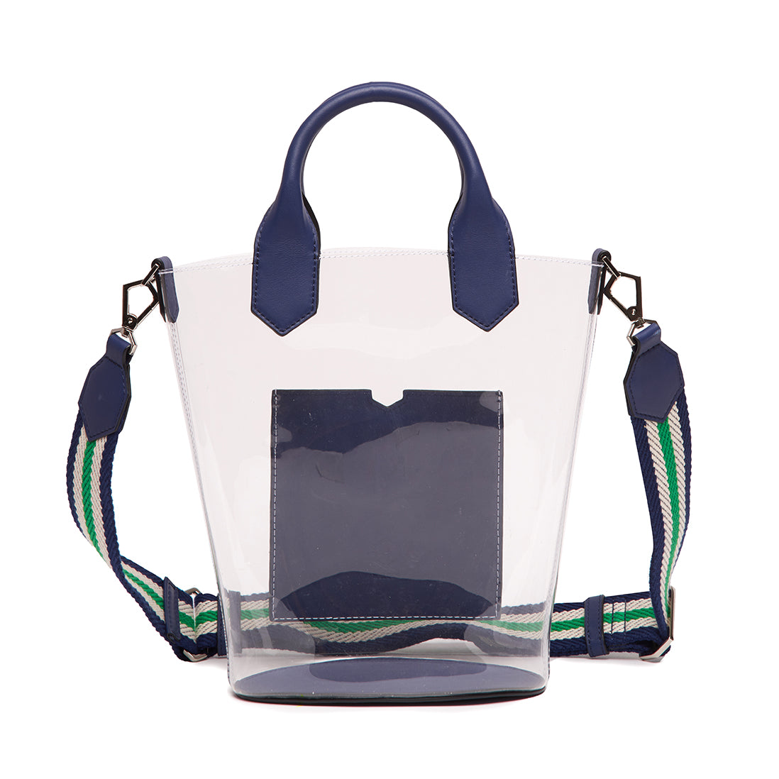 Small Discover Tote Light Navy
