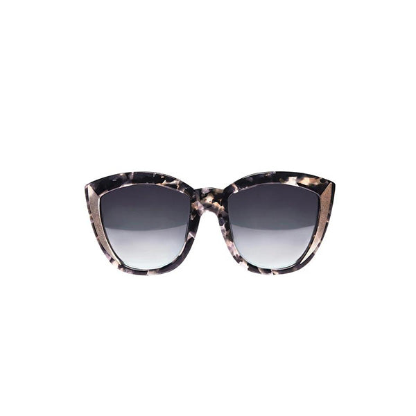 BELIZE Geometric Oversize Sunglasses