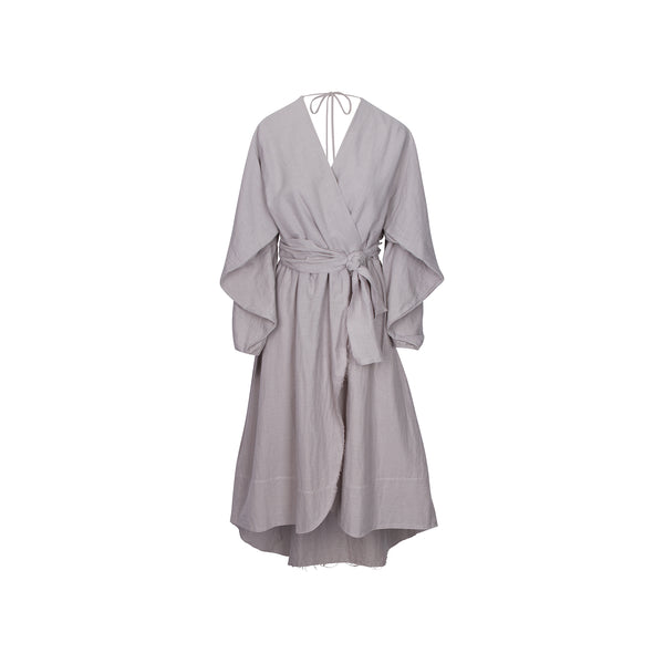Conchas Dress in Grey