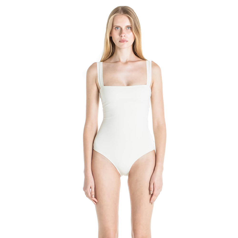 Donatella One Piece Swimsuit in Ivory