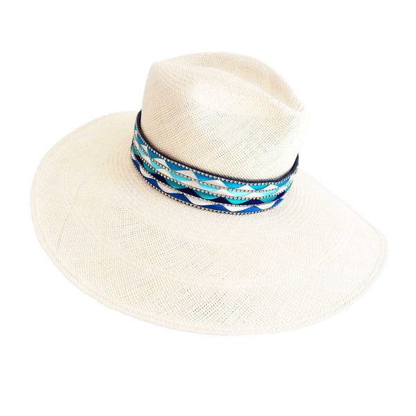 The Mallorca Multi Color Panama Hat