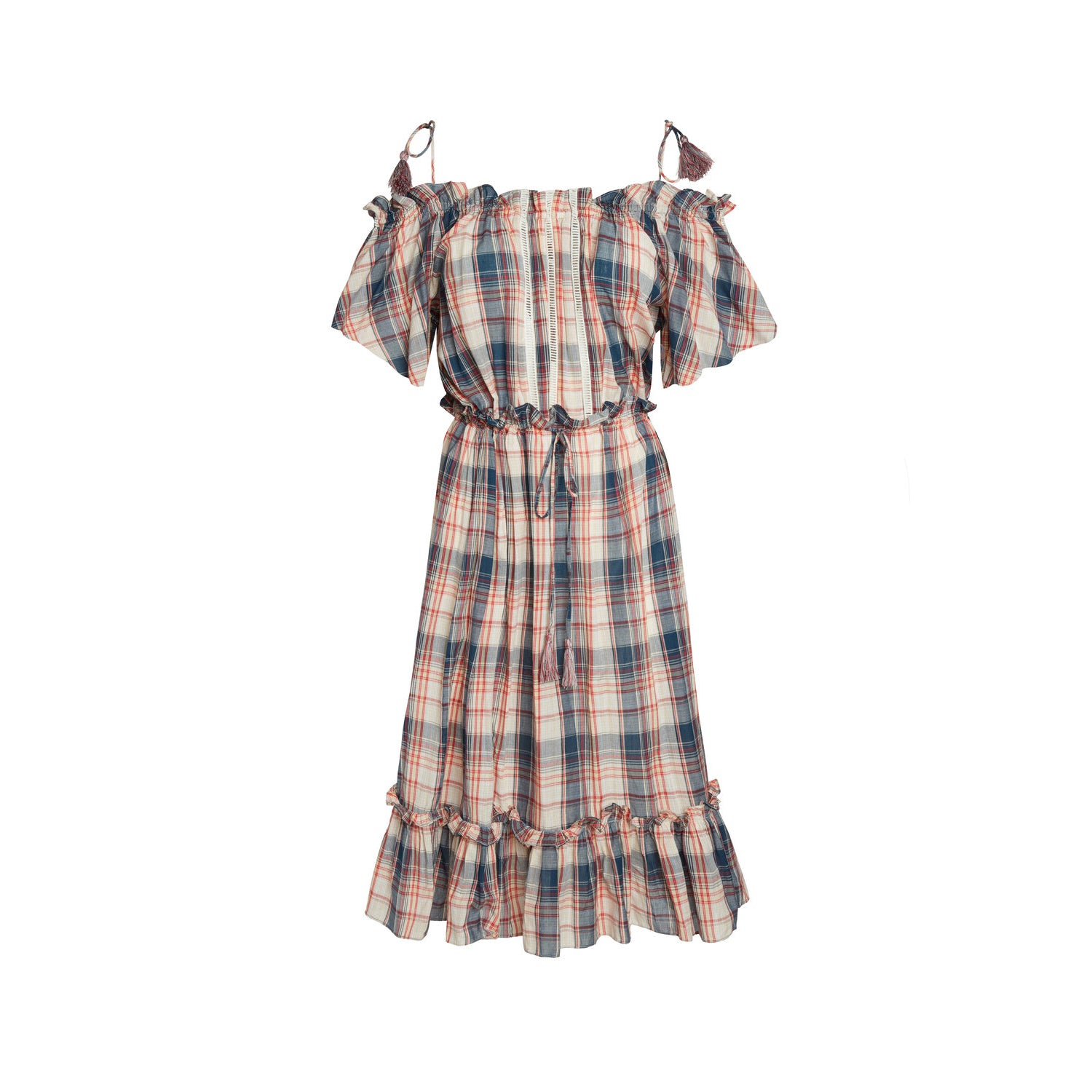 Harper Beach Plaid Dress