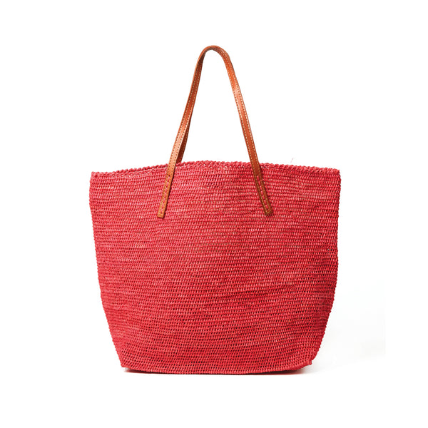 Portland Coral Soft Shoulder Tote Bag