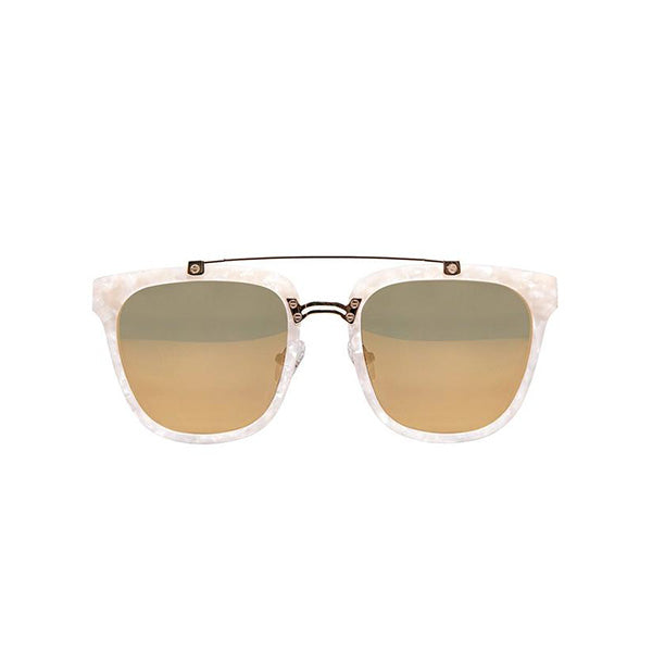 RIO Aviator Sunglasses in Pearl