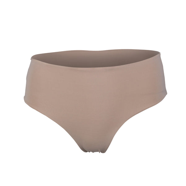 Serena One Shoulder Bikini Bottom Camel
