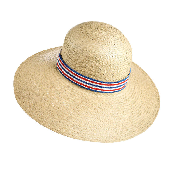 Waikiki Striped Sun Hat