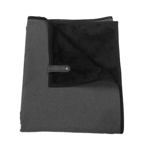 Waterproof Adventure Blanket - Deep Charcoal/Black