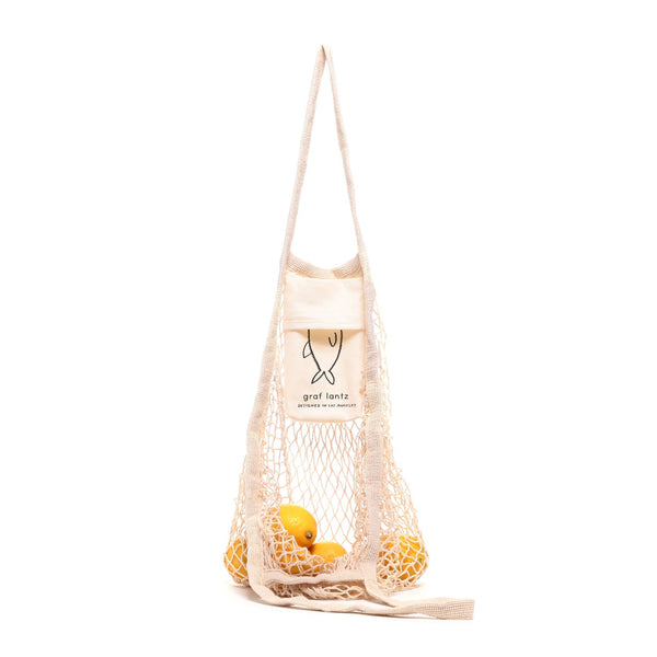 Ami Net Market Tote, Natural