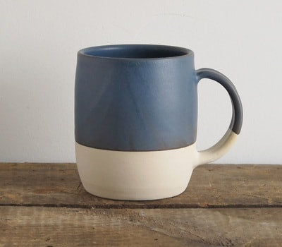 Slow Studio Ceramic Mugs, Indigo