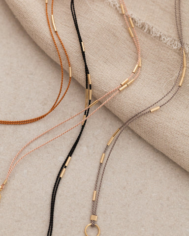 Andromeda Beaded Necklace - Acacia