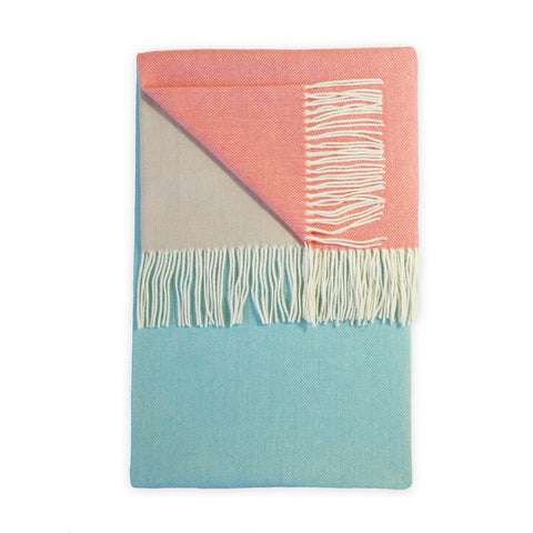 Bradley Mid Turquoise Throw - Acacia