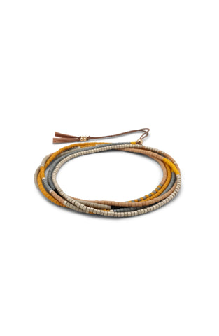 Simi Wrap Bracelet / Necklace - Acacia