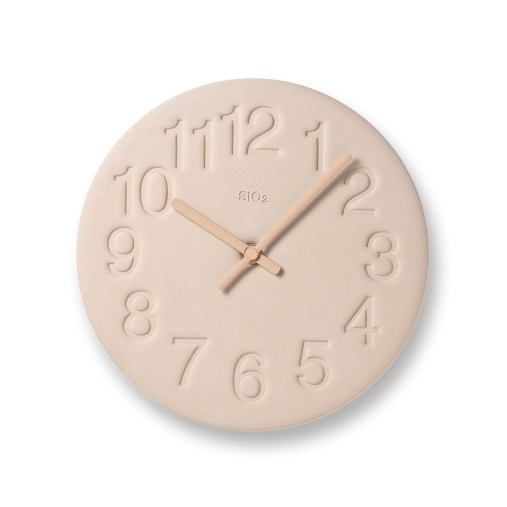 Earth Clock, Pale Pink