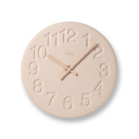Earth Clock, Pale Pink - Acacia