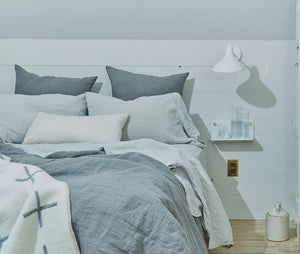 Simple Linen Bedding - Acacia